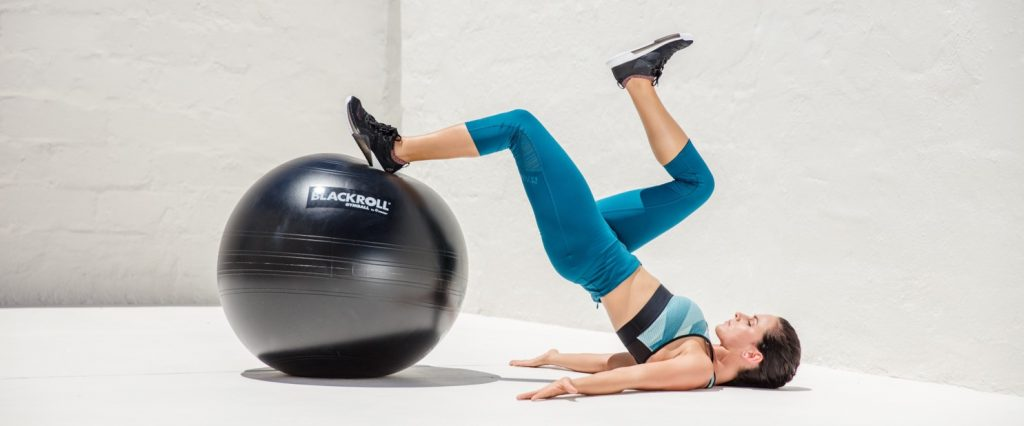 Blackroll Gymball exercise1