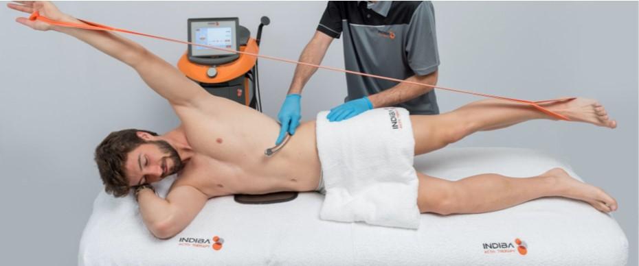 INDIBA Fascia treatment 2