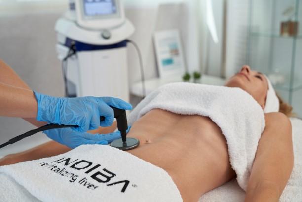 Indiba Deep care Elite NS treatment 1